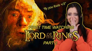 FIRST TIME WATCHING THE LORD OF THE RINGS: FELLOWSHIP OF THE RING Extended Edition Part 2 Reaction