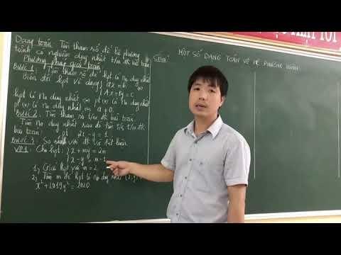 Bài giảng môn Toán 9: Một số dạng toán giải phương trình. Giáo viên: Đỗ Văn Tuệ