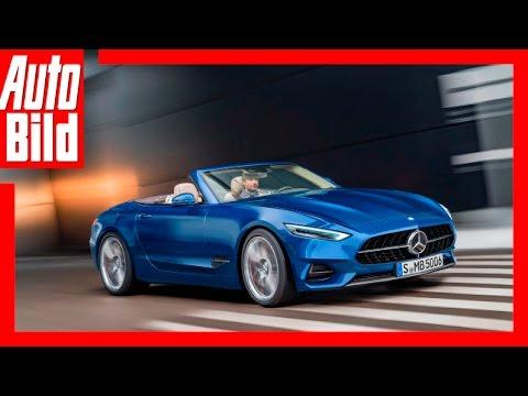 Zukunftsvision: Mercedes SL / 2020 / Neue Sportler mit Stern