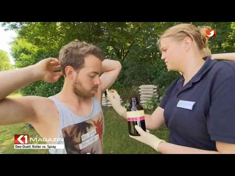Deo Roller oder Spray: was hilft besser gegen Schwitzen ?