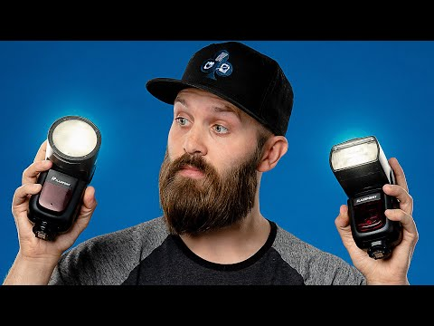 Godox V1 vs V860II Power and Feature Comparison : Flashpoint Zoom R2 Li-on vs Li-on X