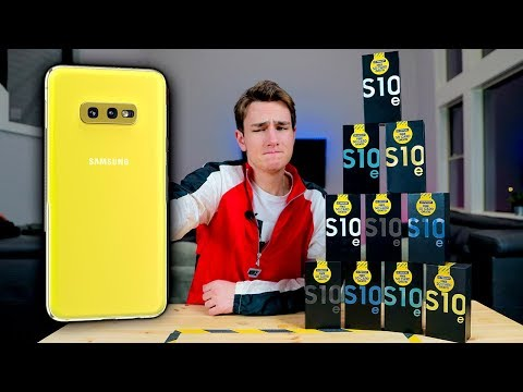 I'm Switching To The Samsung Galaxy S10e..