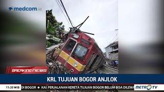 Kronologi Rute Jatinegara-Bogor KRL Anjlok
