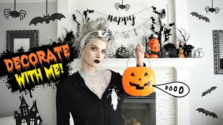 Decorate For Halloween With Me Pt. 1