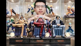 Unboxing Kizaru Borsalino Statue From One Piece By MP.