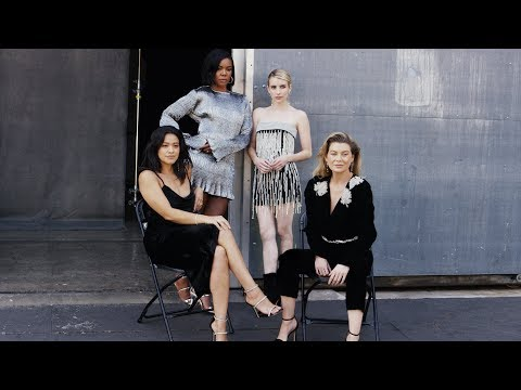 The Big Television Debate | Ellen Pompeo, Emma Roberts, Gina Rodriguez and Gabrielle Union