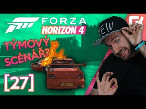 TÝMOVÝ SCÉNÁŘ! | Forza Horizon 4 #27
