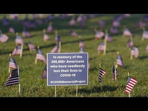 ΗΠΑ – COVID 19: Εσπασε το φράγμα των 200.000 θανάτων