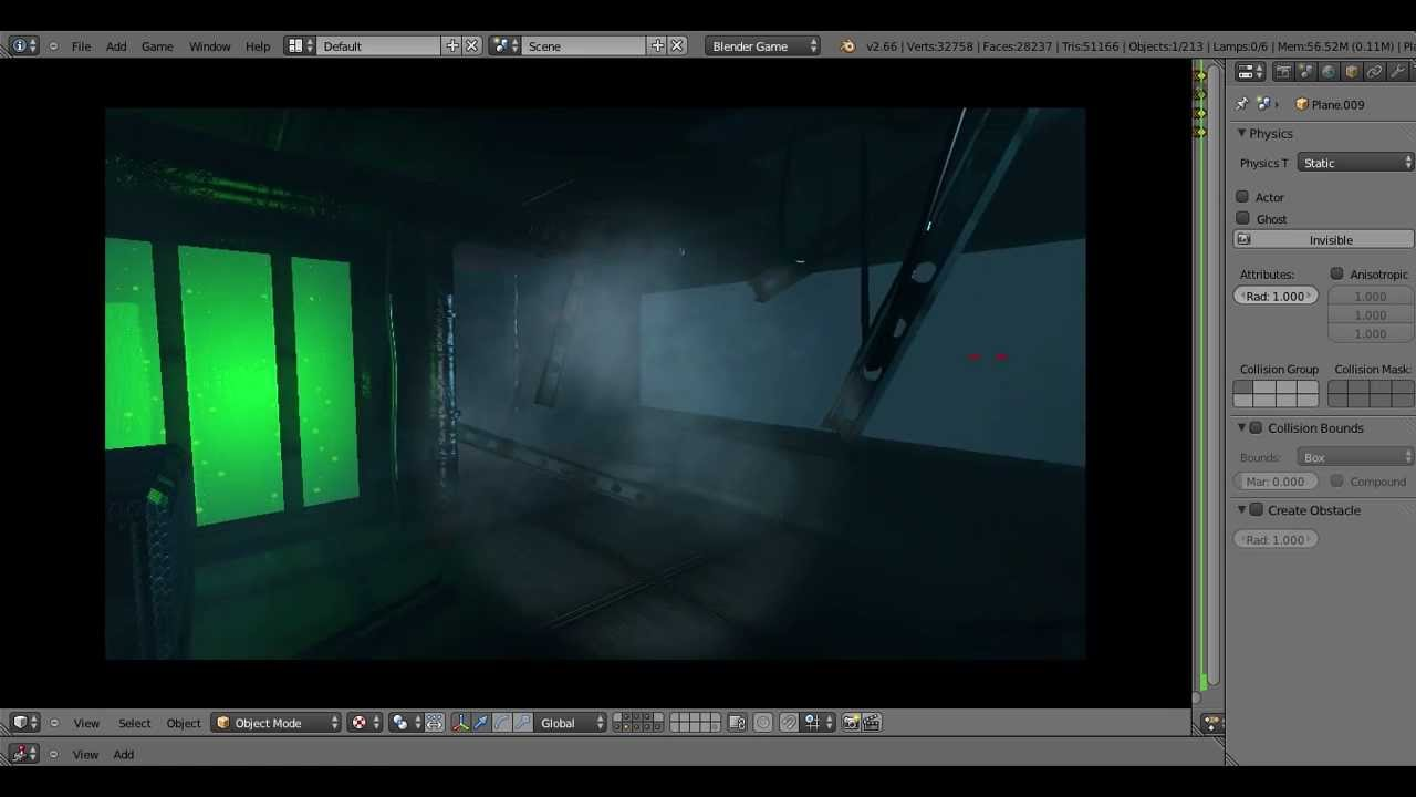 Blender Game Engine Tutorial-Nebel