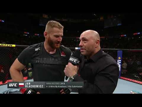 UFC 239: Ян Блахович - Слова после боя