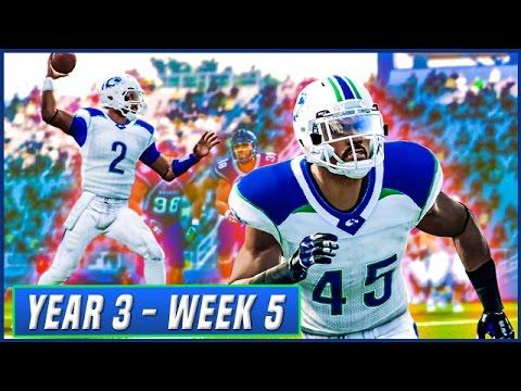 NCAA Football 14 Dynasty Year 3 - Week 5 @ Nevada (Conference Opener)  | Ep.41