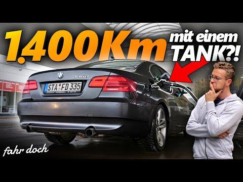 BMW 335d E92 Hypermiling | 4,2 Liter Verbrauch mit 286 DIESEL-PS?   Fahr doch