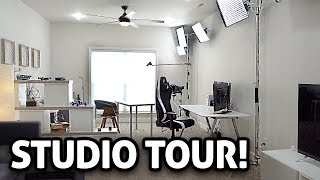 STUDIO TOUR 2018!! (My YouTube Setup)