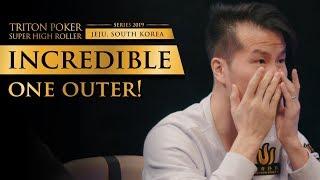 Insane One Outer Bad Beat   Triton Poker 2019