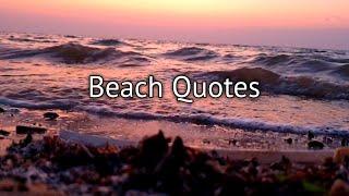Beach Inspirational Quotes Ocean Seaview Saudi Arabia