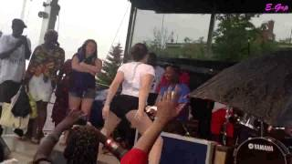 White Girl Dancing Personally by P-Square