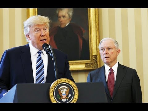 Trump Trashes Jeff Sessions, Doesn't Fire Him