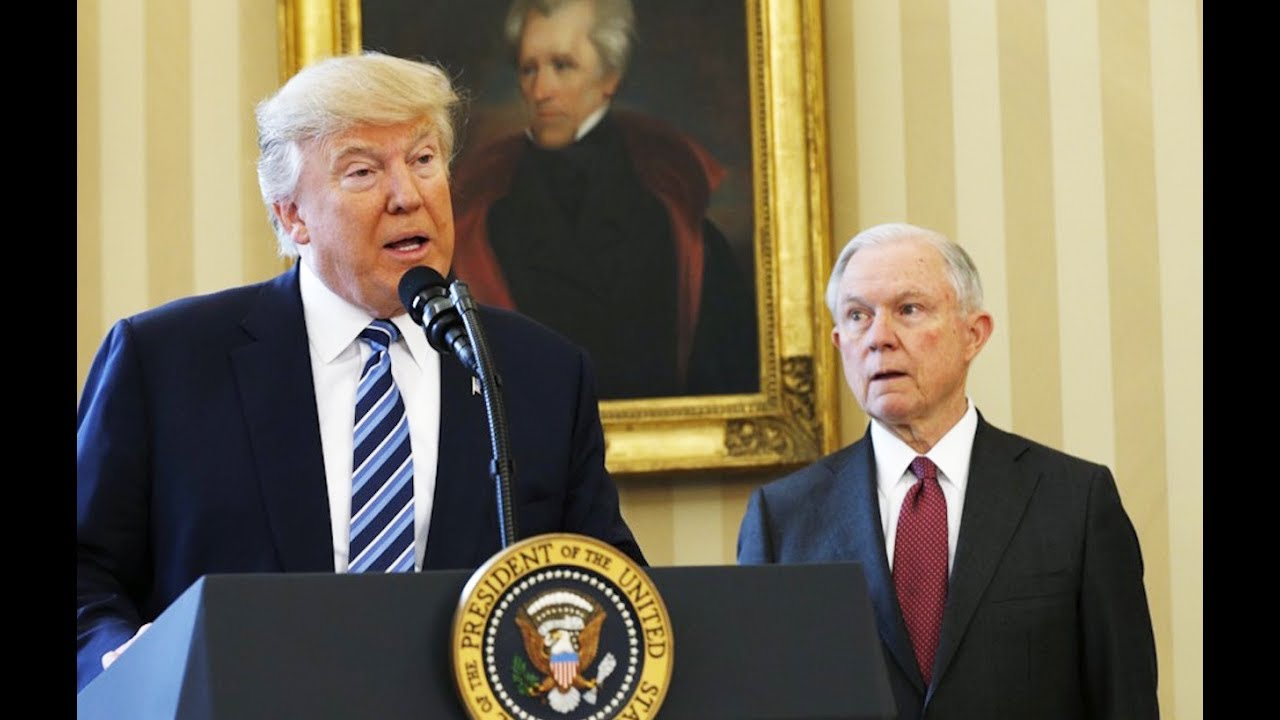 Trump Trashes Jeff Sessions, Doesn't Fire Him thumbnail