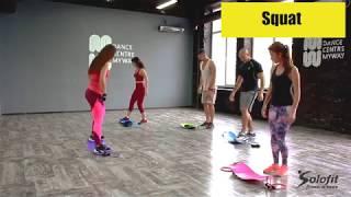 20 minute Solofit Board Full-Body Workout
