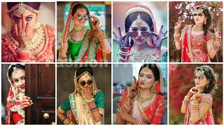 Bridal Photoshoot Poses || Bridal Photography Ideas - Fashion Friendly