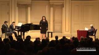 Carnegie Hall Vocal Master Class: Strauss's