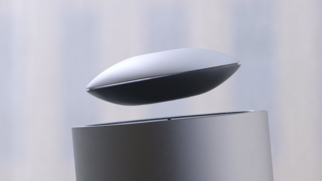 This levitating speaker plays your music in mid-air thumbnail