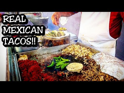 REAL MEXICAN STREET FOOD - TACOS AND TORTAS - Authentic Local Food!!!!