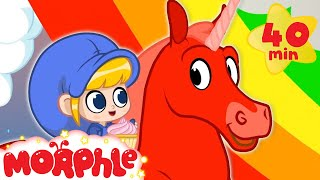 Rainbows and Unicorns - My Magic Pet Morphle | Cartoons For Kids | Morphle TV | Mila and Morphle
