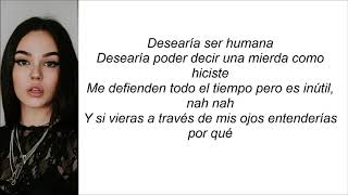 Maggie Lindemann   Human (Letra En Español)