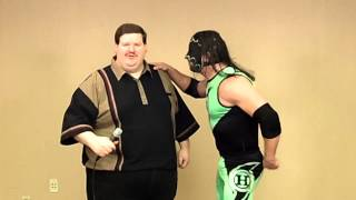 Gregory Hurricane Helms – Fan Wrestling Promo – January 30, 2011