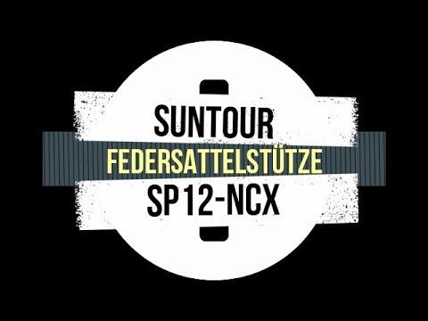 Federsattelstütze Suntour SP12 NCX