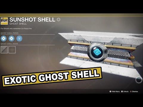 Destiny 2 forsaken new exotic ghost shell peerless precision shell