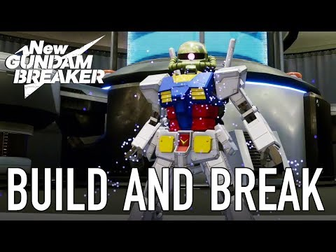 New Gundam Breaker : New Gundam Breaker - Build and Break (Teaser Trailer)