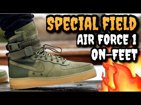 BEST SHOE OF LAST YEAR? NIKE SF AF1 ON-FEET REVIEW!