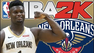 NBA 2K20: How To Use Zion Williamson in NBA 2K