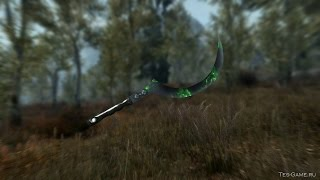 Skyrim: мод на оружие Дотракийский Аракх (Game of Thrones)