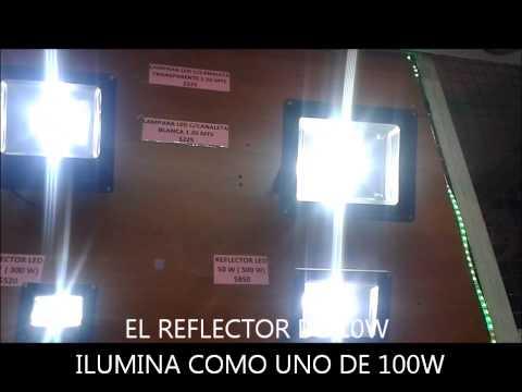 REFLECTORES LED 10w 20w 30w y 50w