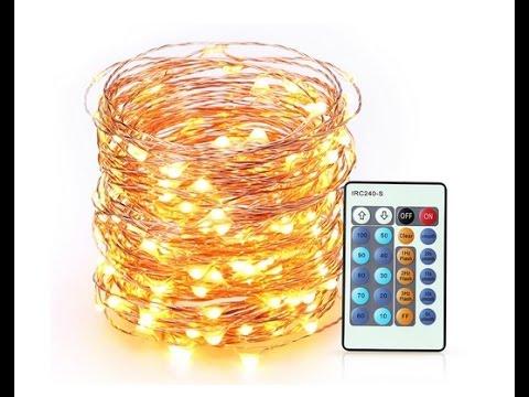 Lichterkette außen innen Weihnachten 20 M 200 LED wasserdicht Zimmerdekoration Hochzeit Party