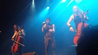 Slow Burn - Apocalyptica in Montreal, 10 June 2015