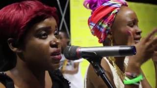 Amantle Brown Live Perfomance At GICC [21 January 2016]