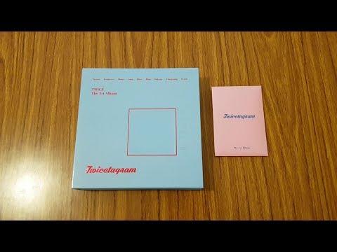 Download Unboxing Twice Twicetagram 1st Full Album All
