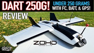 UNDER 250G with GPS! - ZOHD DART 250G Fpv Wing - FULL REVIEW & FLIGHTS