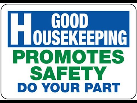 mp4 Housekeeping For Safety, download Housekeeping For Safety video klip Housekeeping For Safety