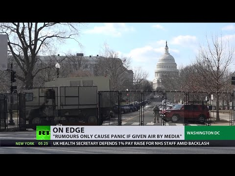 On edge | US Capitol on high alert over protests that didn't happen