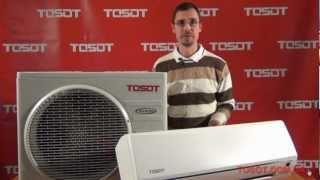 Кондиционер TOSOT (GREE) GK-09A DC-Inverter от компании F-Mart - видео 2