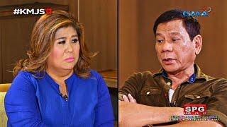 Kapuso Mo, Jessica Soho: Up close and personal with incoming President Rodrigo Duterte