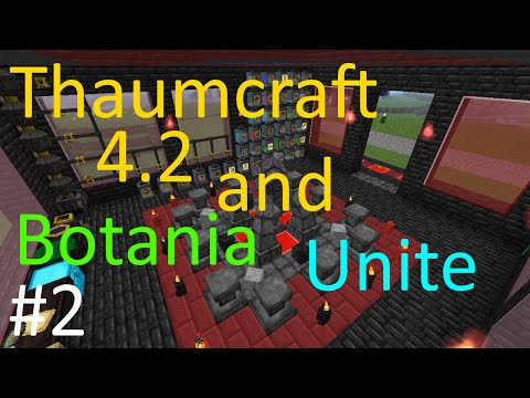 Let's Play Botania - S1E9 - Loomium, Diluted Mana Pools