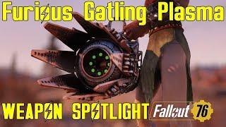 Fallout 76: Weapon Spotlights: Furious Gatling Plasma