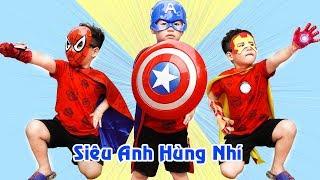 Siêu Anh Hùng Giúp Đỡ Người Gặp Nạn ♥ Min Min TV Minh Khoa