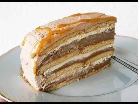 Torte SHEHERZAD me KARAMEL pa Pjekje 👌👌👌